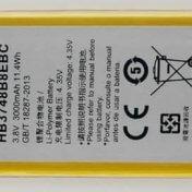 Batería de móvil de 3,8V/3000mAh