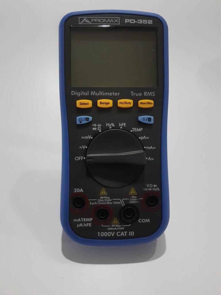 Multímetro Promax PD-352