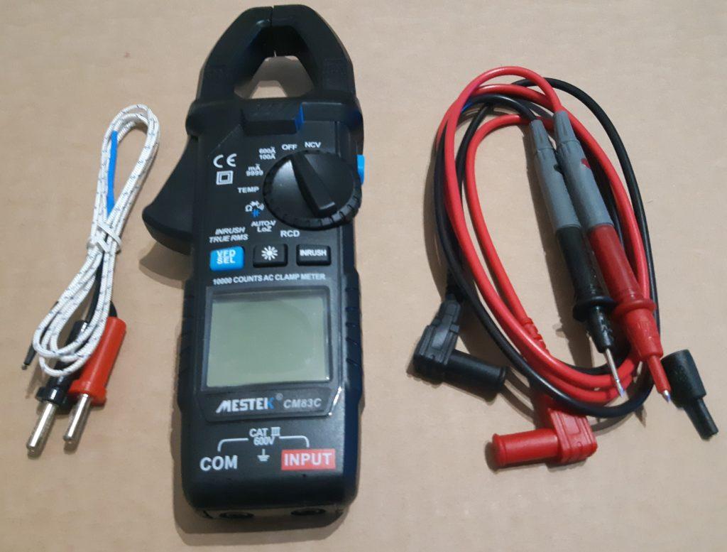 Análisis: Pinza amperimétrica Mestek CM83C 4