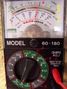 Apuntes de electrónica: El multímetro 1