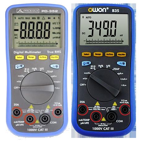 Promax PD-352 vs Owon B35