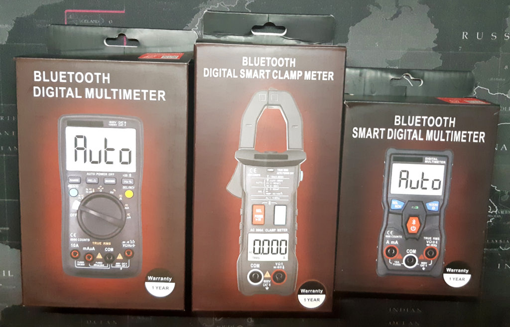 Zoyi multimeters, courtesy of Zotek Instruments