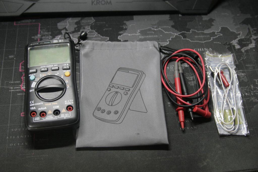 Análisis: Multímetro Zoyi ZT-300AB 2